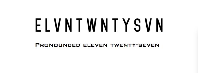 ELVNTWNTYSVN Banner logo type
